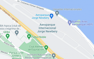 Aeroparque Internacional Jorge Newbery Buenos Aires