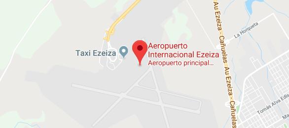 Aeropuerto Internacional Ezeiza Ministro Pistarini Buenos Aires